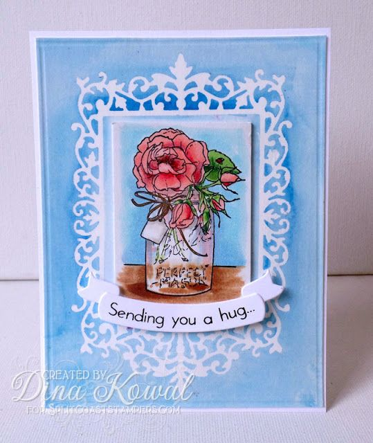 Dina Kowal Creative: New Spring Stamps from IO - Day 3