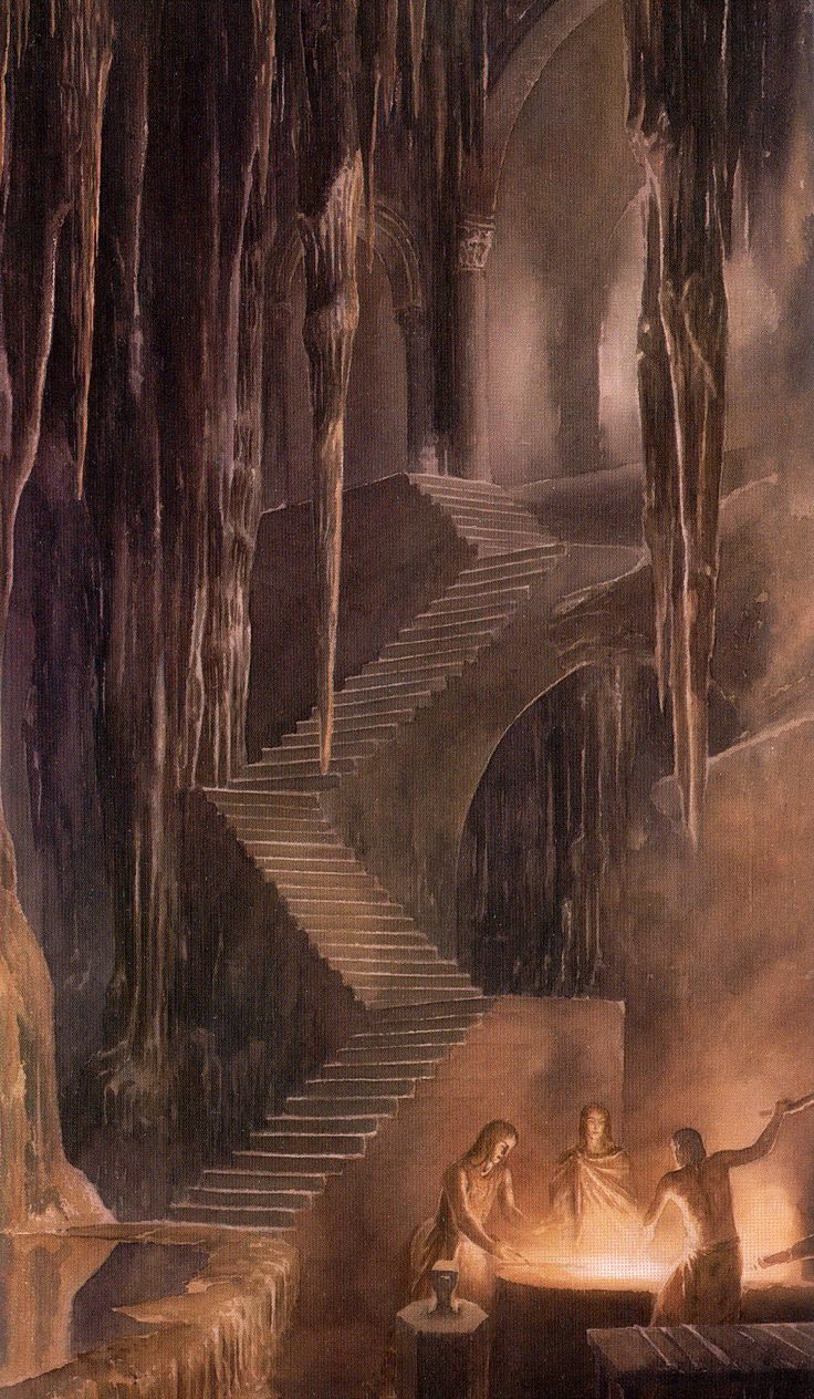 meanwhilebackinthedungeon:  — Alan Lee The Children of Hurin