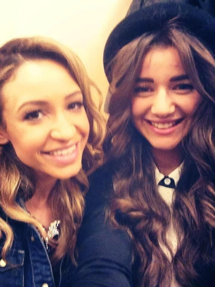 Danielle and Eleanor at MSG. I will always consider Danielle as one of the girlfriends. I kinda miss Payzer, but I love Sophiam!