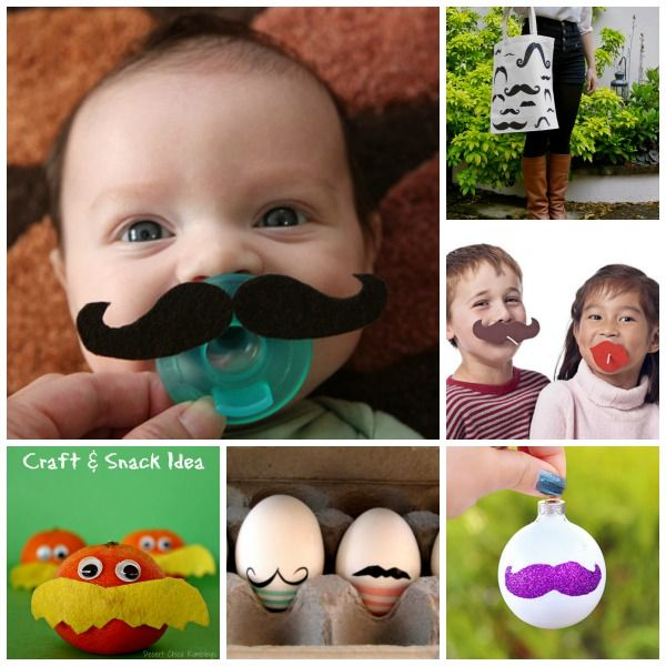 Lots of fun with a Mustache!! Here are 30 great Mustache Crafts for Mustache lovers.. something for tiny ones, right up to Grandpa (or Grandma!!) - which Mustache will you make first?!