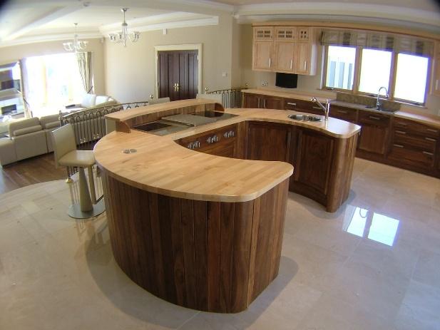 Kitchen Horseshoe Island Dream Home Pinterest