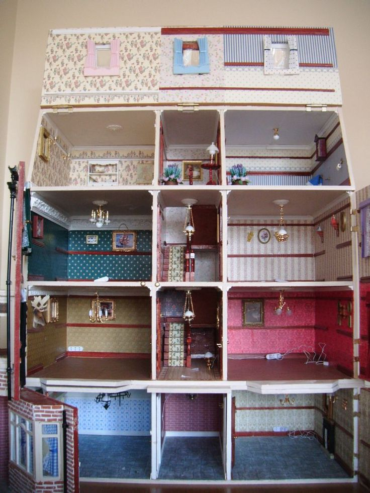 Decorating american doll house for setting up american for Marshfield homes floor plans