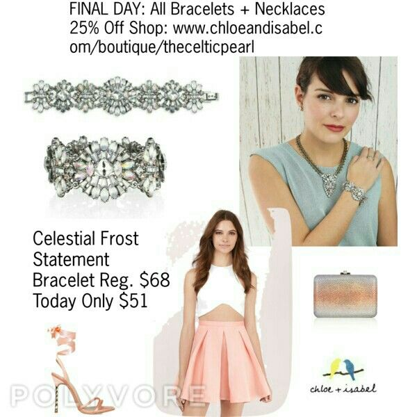 Today's Featured Product: Celestial Frost Statement Bracelet Reg. $68,  Today only $51  Shop:  https://www.chloeandisabel.com/boutique/thecelticpearl/products/B257/celestial-frost-statement-bracelet    #Summer #love #daily #Featured #product  #crystal #opal #peach #pink #white #statement #bracelet #jewelry #fashion #accessories #style #shopping #shop #trendy #boutique #chloeandisabel #thecelticpearl #lifetimeguarantee #online #buy