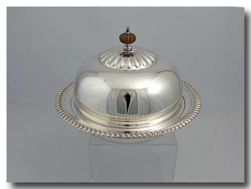 THE FINEST BIRKS REGENCY 3PCS SILVER PLATE CREPE/ MUFFIN DISH