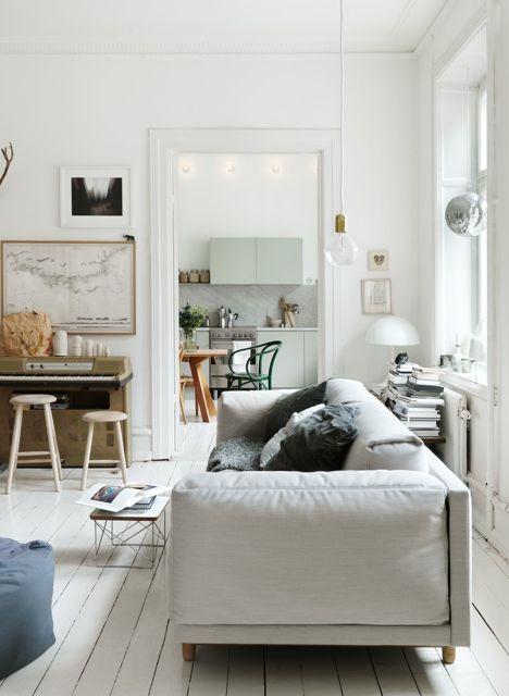 Swedish Living Room Interior Ideas
