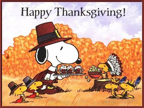 Snoopy Thanksgiving Pictures, Photos, and Images for Facebook, Tumblr, Pinterest, and Twitter