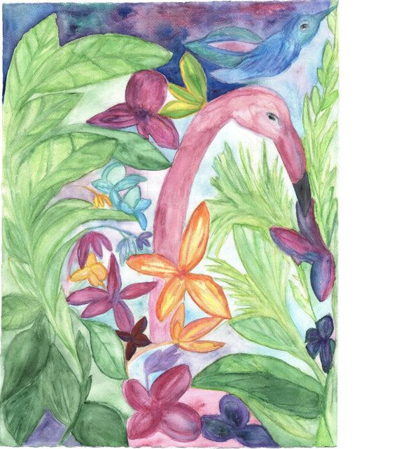 Original Watercolor Painting  by Signe by SigneGoldeneye on Etsy