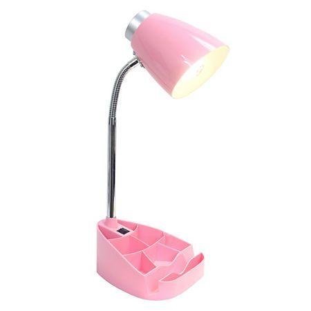 Pink Desk Lamp with Tablet Stand | Kirklands