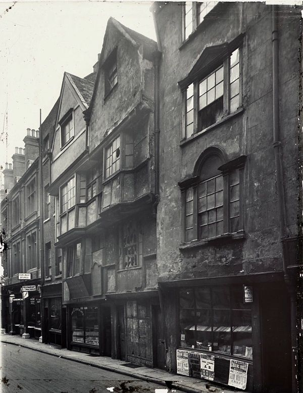 Bookseller, Wych St, London, c. 1890