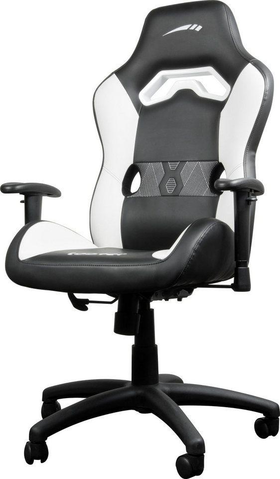 Speedlink Büro Gaming Stuhl Looter Gaming Chair Schwarz Weiß