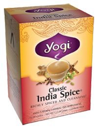Yogi Tea Classic India Spice Tea, 16.0 Each , Bag  #vitaminshoppe  #contest