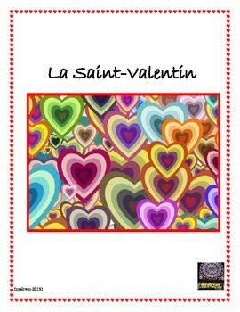 """FRENCH Valentine's Day - Add a little twist to your Valentine's Day activities with a bit of """"detective"""" work for your students! Using a """"coded alphabet"""" have your students figure out the French coded phrases relating to Valentine's Day. A two page list of vocabulary is included along with a heart card to fill in and share with a friend."""