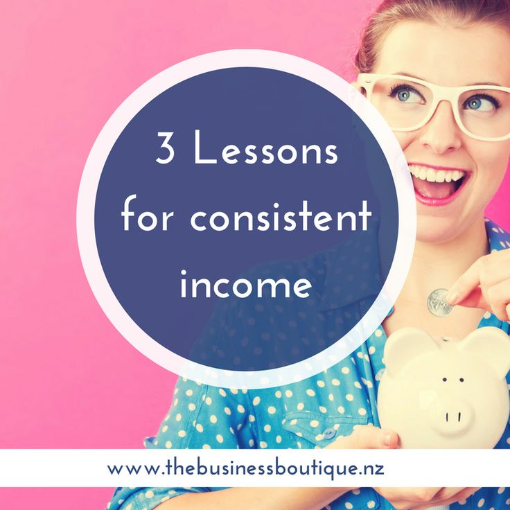 Why is consistent income so hard?  Do you feel everyone else knows something you don't?  These 3 lessons will help you get closer to creating consistent income.