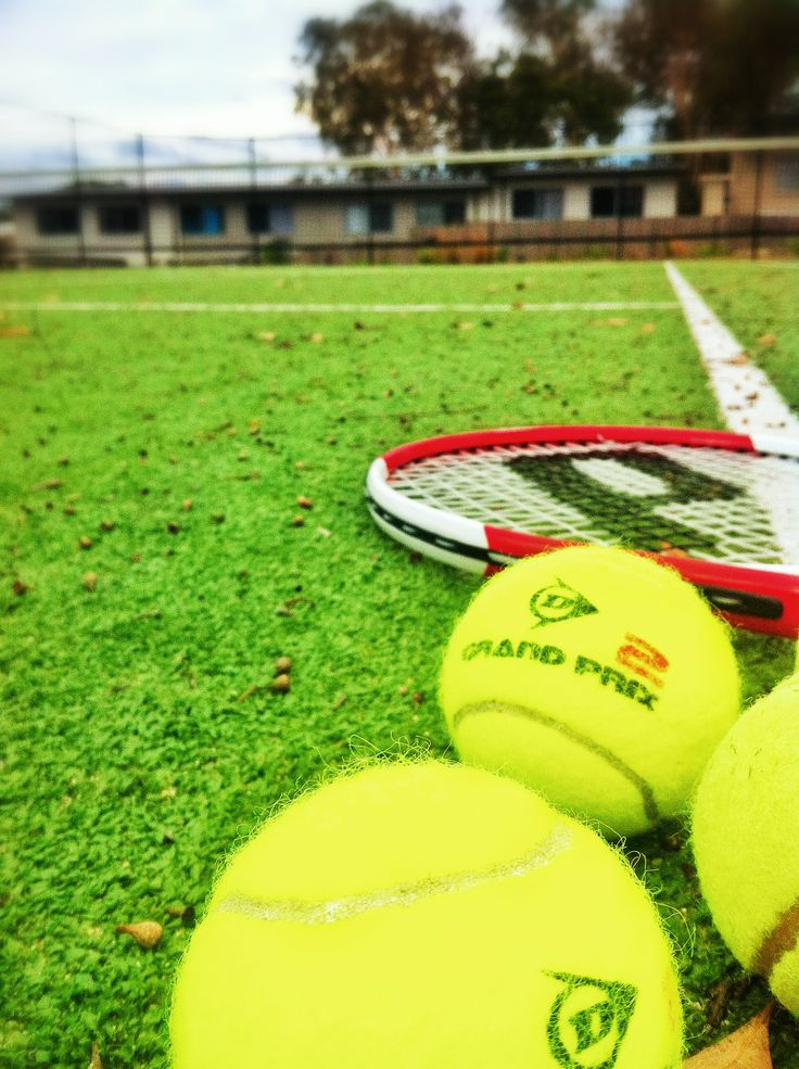 The ball is in your court by Jamie Hill #tennis #iphone