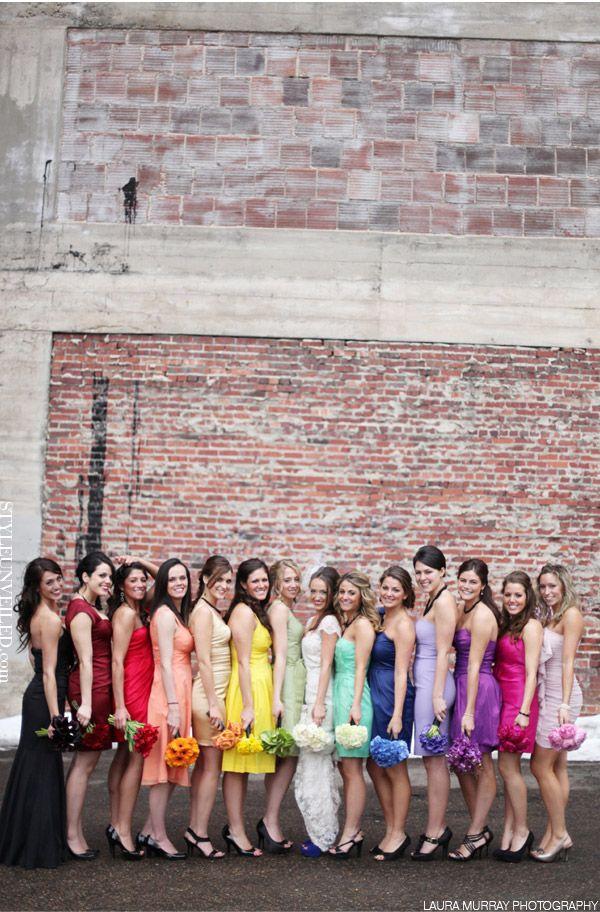 Style Unveiled - Style Unveiled | A Wedding Blog - Over the Rainbow Wedding Inspiration