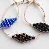 Brilliant Hemp Diamond Bracelet | AllFreeJewelryMaking.com