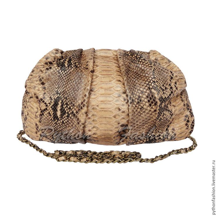 Купить Вечерний клатч из кожи питона DEVILLE - Вечерний клатч, клатч из кожи питона