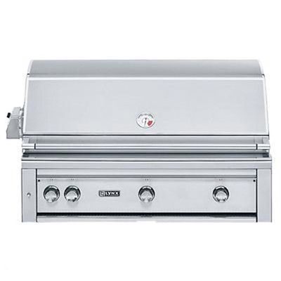 Lynx 3-Burner Built-In Propane Gas Grill with Smoker Fuel Type: Natural Gas