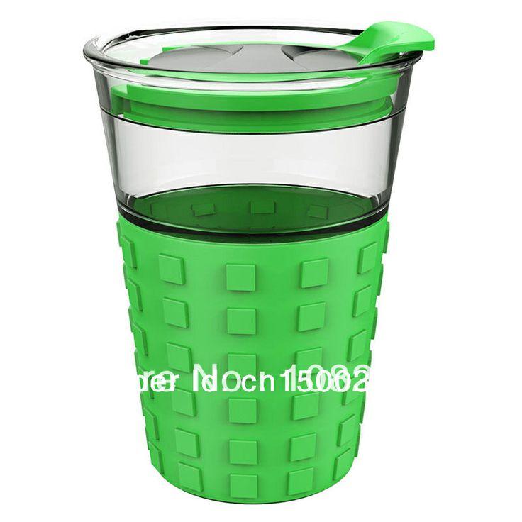 Vaso de café del Viaje Taza de Té Taza del hire estafa Una tapa de Plástico En El ir 12 oz lata De 12 onzas