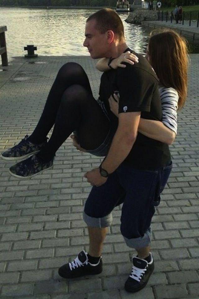 Прикольные картинки девушки с парнем