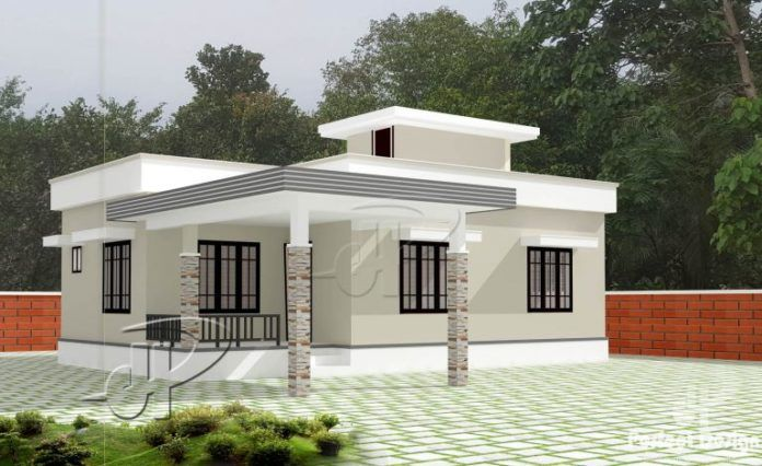 Easy To Build And Maintain A House With 84 M Floor Area Discover And Enjoy The Spirit Of A Cool One S Simple House Design House Design Pictures House Design