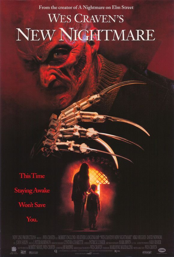 Wes Craven's New Nightmare 27x40 Movie Poster (1994)