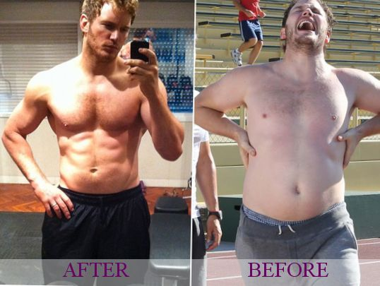 8 Pictures for Chris Pratt Before and After Morably | WO ...
