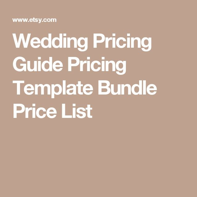 37 best Price List Templates images on Pinterest Photography - price list format