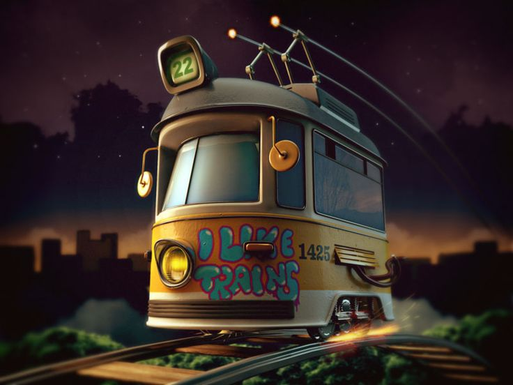 I Like Trains update by Zhivko Terziivanov