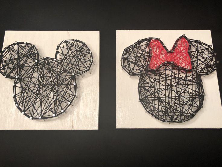 Disney string art   A personal favorite from my Etsy shop https://www.etsy.com/listing/594642573/disney-string-art