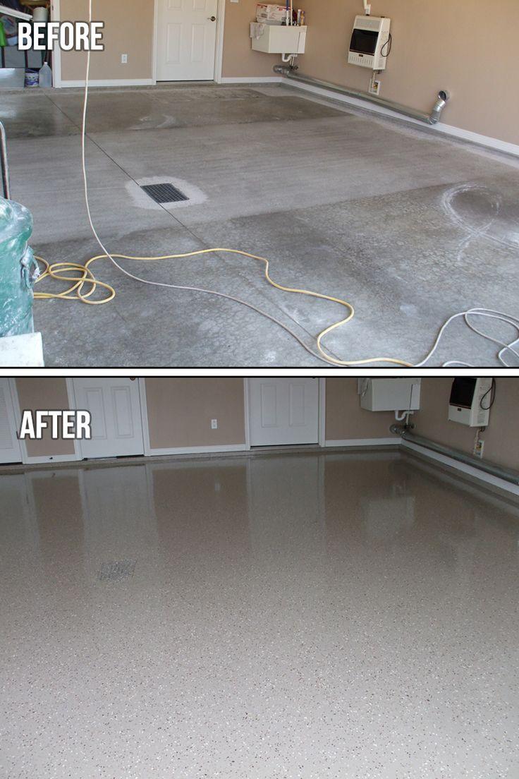 Best 25+ Epoxy Flooring Cost Ideas On Pinterest | Epoxy Garage Floor Paint, Garage  Flooring Options And Best Garage Floor Paint