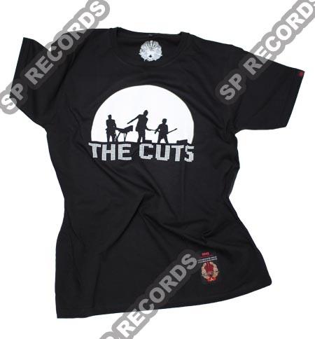 Koszulka The Cuts - Zimne słońce Czarna. Zapraszamy do zamawiania koszulki w sklepie S.P. Records: http://www.sprecords.pl/muzyka/the-cuts/koszulka-the-cuts-zimne-slonce-czarna_p_235.html