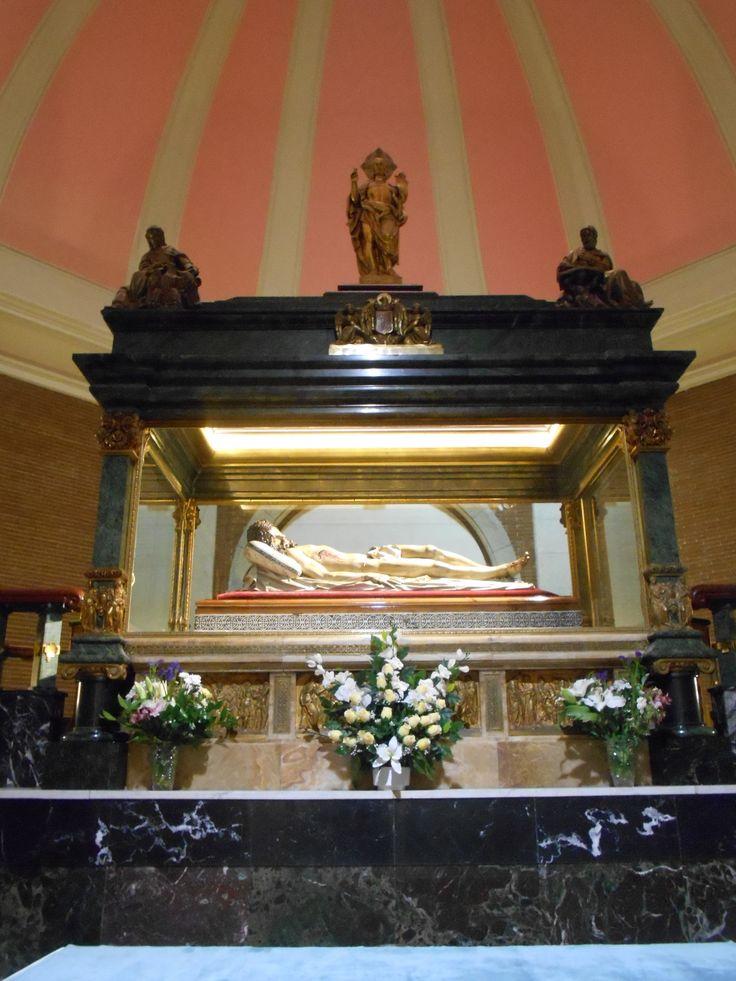 Cristo de El Pardo. Gregorio Fernandez. Convento de Nuestra Señora de los Angeles. El Pardo Madrid