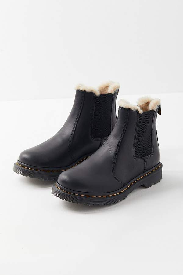 S 2976 Leonore Faux Fur Lined Winter Warm Closed Toe Boot