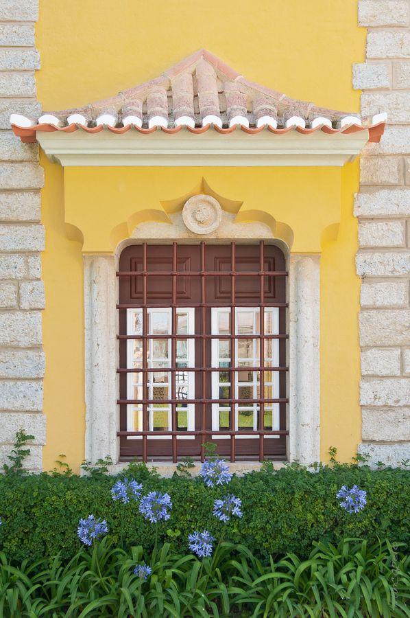 Cascais window detail, Portugal #PortugalFlowerPower