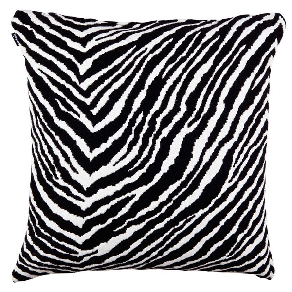 Zebra cushion cover by Artek.