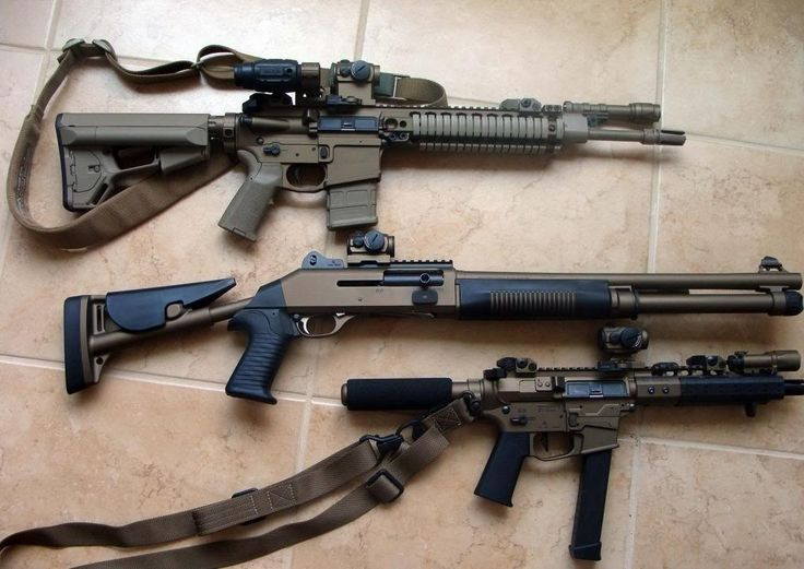 Trio of pretty nice looking weapons