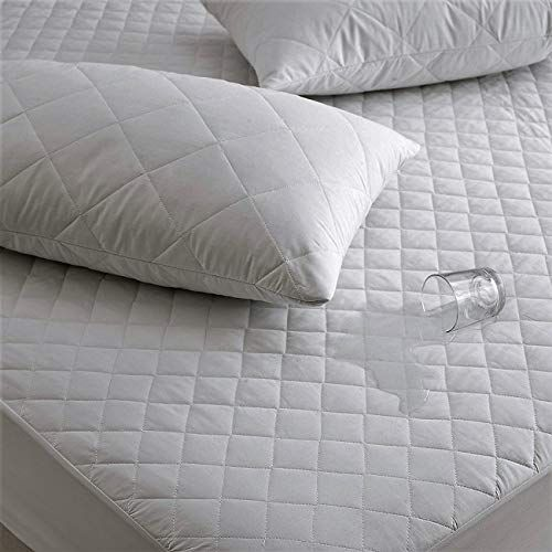 FITTED MATTRESS PROTECTOR SHEET SINGLE DOUBLE AND KING SIZE WATERPROOF
