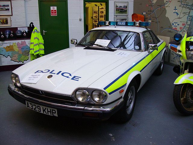 JAGUAR XJS POLICE CAR A329KHP by peeler2007, via Flickr