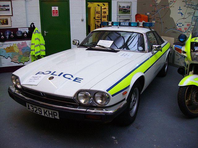 JAGUAR XJS POLICE CAR A329KHP by peeler2007, via Flickr