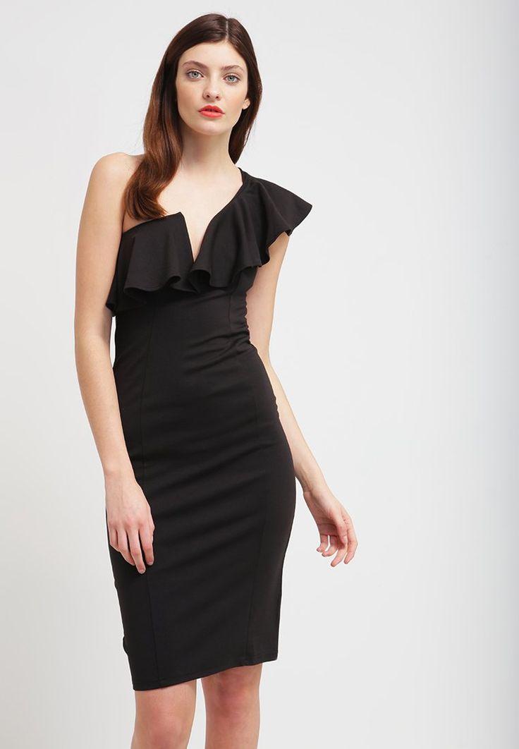 Rare London Sukienka etui - black - Zalando.pl