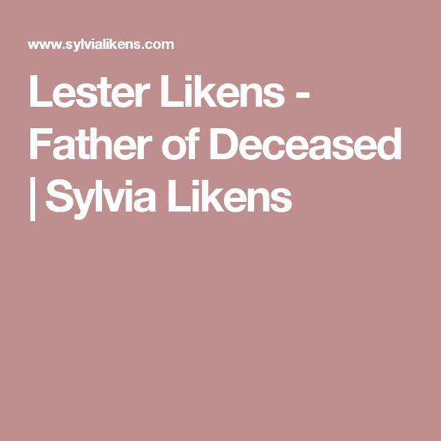 Lester Likens - Father of Deceased | Sylvia Likens