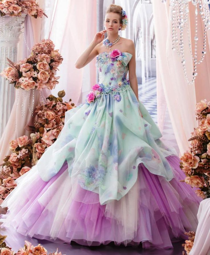Colorful Wedding Dresses: 17 Best Ideas About Vintage Girls Dresses On Pinterest