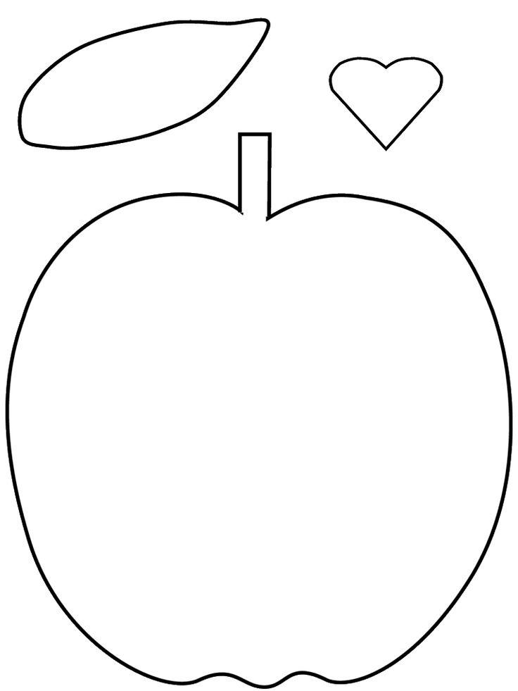 25 Best Apple Template Ideas On Pinterest Apple