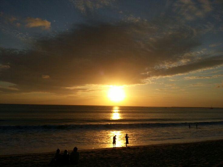 Sunset at Jimbaran, Bali, Indonesia