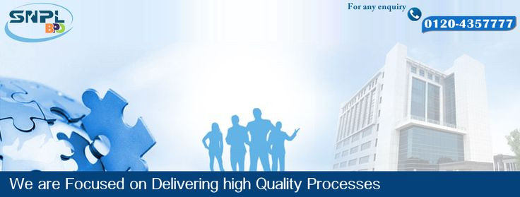 We are focused on Delivering high Quality Processes...