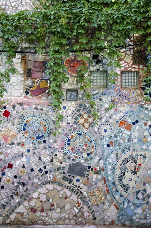 Philadelphia's Magic Garden-The work of Isaiah Zagar-Breathtaking!