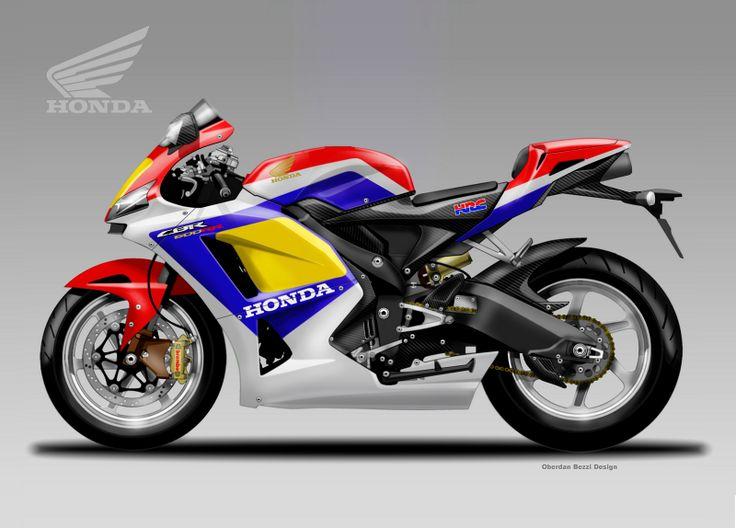 Design Corner - Honda CBR 600 RR by Oberdan Bezzi