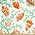 P Kaufmann Indoor/Outdoor Coral Splendor Coral - Discount Designer Fabric - Fabric.com