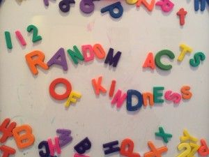 112 Random Acts of Kindness Ideas